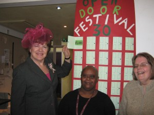 Lord Lieutenant Sarah Troughton launches  Festival 30 on 27th January 2015