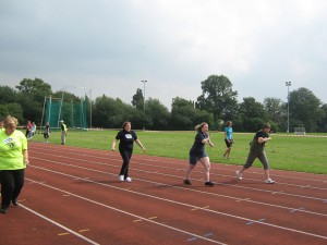 Members competing at the Bob Cooke memorial games